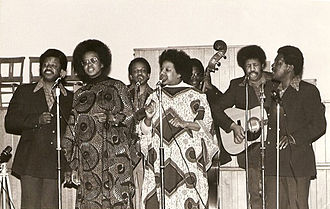 Caribbean music in the United Kingdom - The Singing Stewarts performing at Newbold College