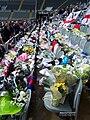 Sir Bobby Robson tributes at SJP pic 1.JPG