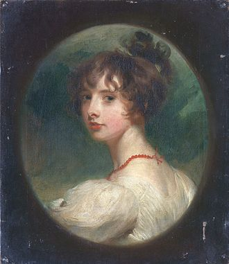 Emily Temple, Viscountess Palmerston - Portrait of Lady Emily Lamb, aged 16, by Sir Thomas Lawrence