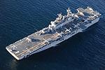 Six MV-22 Ospreys aboard USS Boxer. (8489343426).jpg