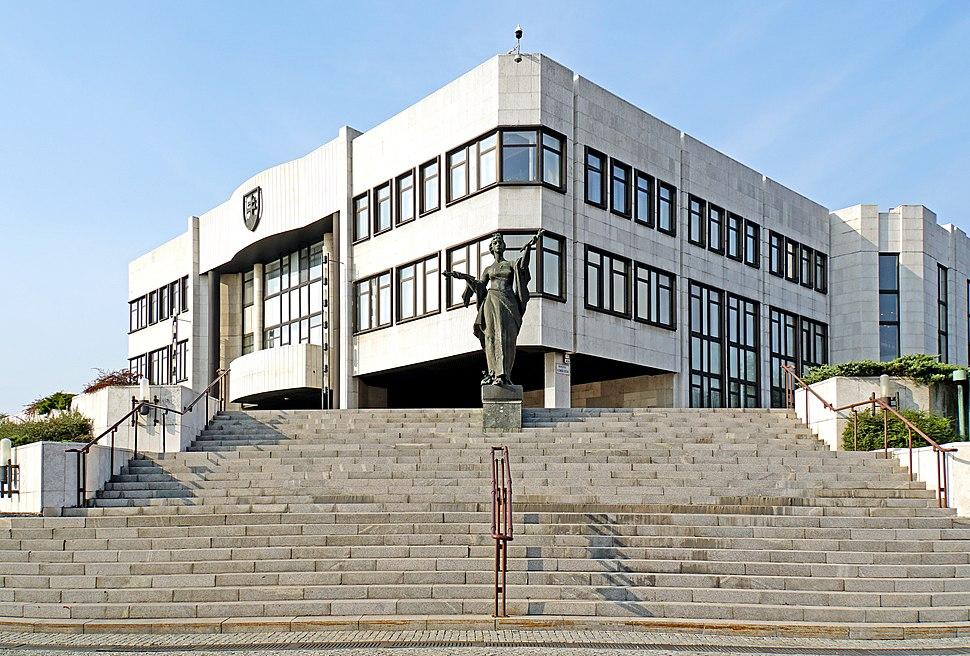 Budova Národnej rady Slovenskej republiky v Bratislave