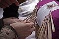 Slovakian bobbin laces making Myjava-Festival.jpg