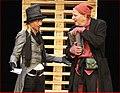 Sluga dvaju gospodara, Drama SNP, 2012, Sanja Ristić Krajnov, Branimir Brstina, foto B. Lučić.jpg