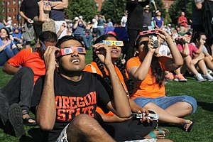 Solar eclipse of August 21, 2017 - Viewing the eclipse at Oregon State University