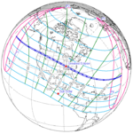 Solar eclipse global visibility 2017Aug21T