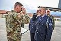 Soldiers exchange salutes.jpg