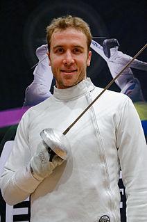 Soren Thompson American fencer