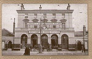 London and Southampton Railway - Southampton Terminus station