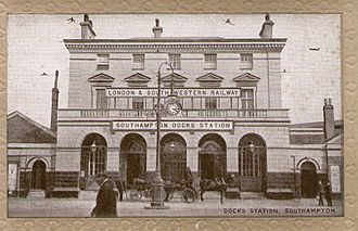 London and Southampton Railway - Southampton Terminus station