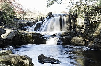 Oxford, Connecticut - Southford Falls in Oxford and Southbury is a popular spot with photographers and hikers.