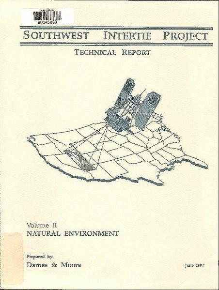 File:Southwest Intertie Project - technical report, v. 2 (IA southwestinterti5830unit).pdf