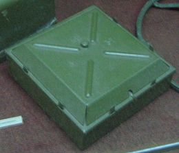 Soviet TM-35 mine at the Museum on Sapun Mountain in Sevastopol.jpg