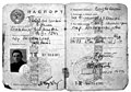 Soviet passport of Nazi collaborator Mihail Bukin.jpg