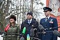 Soyuz MS-12 crew departs Star City, Russia.jpg
