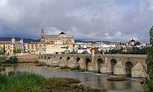 Ponte romano di Cordova, in Spagna, costruito nel I secolo a.C.