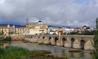 Córdoba, Spain - The Roman Bridge over the Guadalquivir and the Mosque–Cathedral of Córdoba