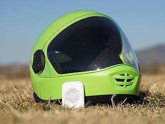 Altimeter - Speaking Altimeter with helmet for skydiving