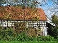 Speidelsmühle an der Eich bei dem Museums Radweg, Würm.Rad.Weg - Heckengäu Natur Nah, Skulpturenweg, Sculptoura, Kunst in der Natur - panoramio.jpg