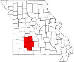 Bản đồ Springfield, Missouri