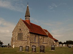 St. Lawrence's church at St. Lawrence, Essex - geograph.org.uk - 212809.jpg