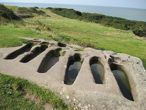 St. Patrick's Chapel tombs