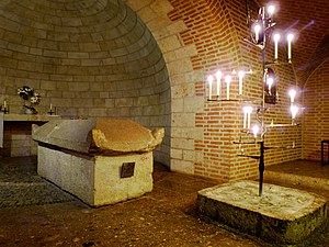 Saint Afra - Tomb of Saint Afra in Augsburg