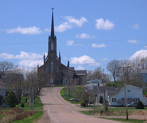 Roméo LeBlanc - St. Thomas Church in Memramcook was the location of his state funeral.