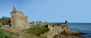St Andrews Castle - Image: St Andrews Castle Panorama