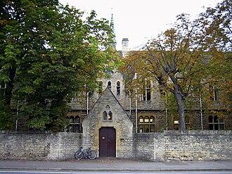 Woodstock Road, Oxford - St Antony's College on the Woodstock Road.