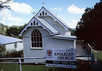St George's Anglican Church, Eumundi - St George's Anglican Church, 1997