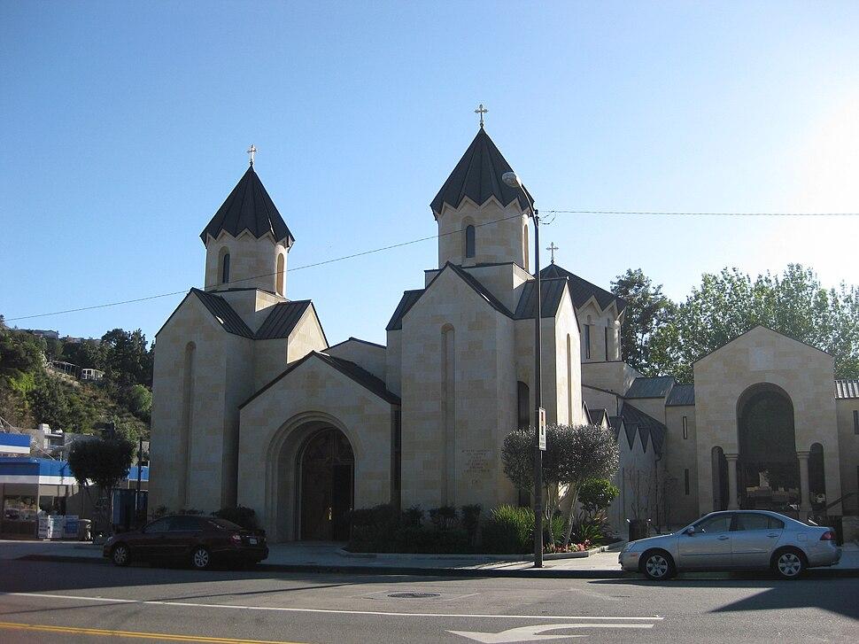 St Gregory Armenian Catholic Church in Glendale, California