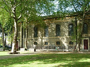 St John the Baptist, Hoxton - South aspect of St John's Hoxton