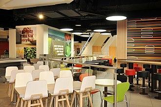 St. John's Shopping Centre - Image: St Johns Shopping Centre Food Court 2