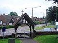 St Katherine, Ickleford - Lychgate - geograph.org.uk - 889610.jpg