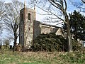 St Mary's Church Carleton Forehoe after the storm - geograph.org.uk - 424729.jpg