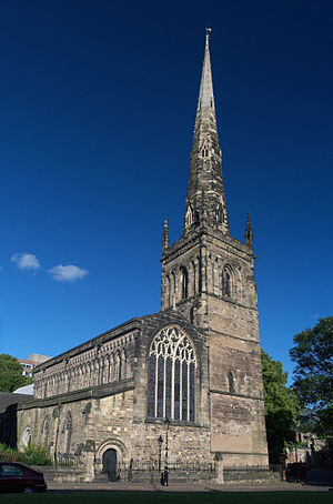 Anglican churches in Leicester - Church of St Mary de Castro, Leicester