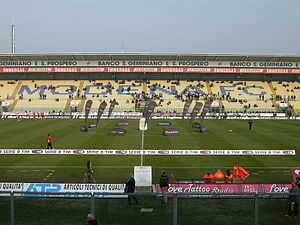 U.S. Sassuolo Calcio - The Stadio Alberto Braglia in Modena was Sassuolo's temporary home while playing in Serie B.
