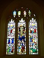 Stained glass window, St Michael's Church, Doddiscombsleigh - geograph.org.uk - 1308714.jpg
