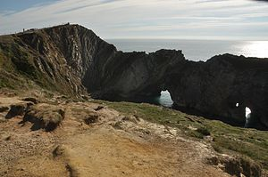 Stair Hole - View of Stair Hole