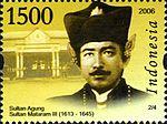 Sultan Agung, raja Mataram selama penaklukan