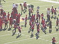 Stanford Band performing pregame at 2008 Big Game 07.JPG