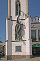 Stará radnice, Krakonošovo náměstí - Trutnovský drak.JPG