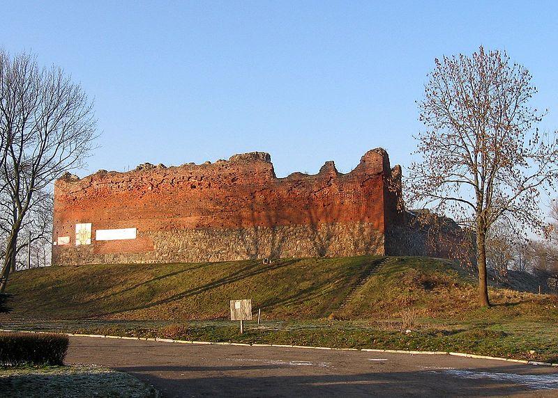 Ruiny zamku Drahim