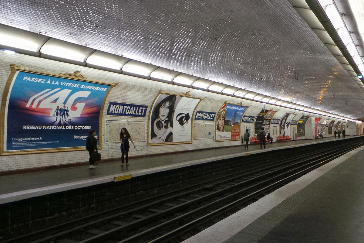 Montgallet paris m tro wikipedia - Porte de charenton metro ...