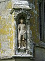 Statue, St Mary's Church, Iwerne Minster - geograph.org.uk - 908275.jpg