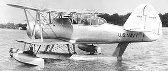 Stearman XOSS - XOSS-1 on floats