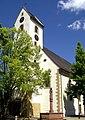Steinenstadt, Kirche St. Barbara, Turm.jpg