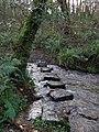 Stepping stones, Cwm Fforest - geograph.org.uk - 1067533.jpg
