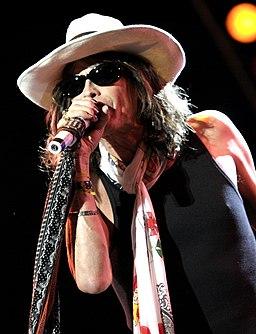 Steven Tyler performing