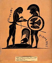 Resultado de imagen de Iliada Diomedes
